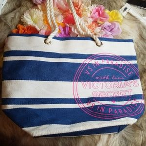 Victoria Secret Large Beach Tote Bag / Purse